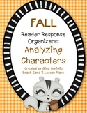 FALL Reader Response Organizers: Analyzing Characters