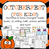 Octoberfest for Kids! Emergent Readers, L.A., Science and Math Activities!