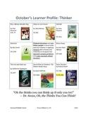 October's Learner Profile: Thinker