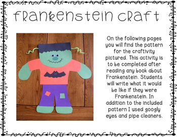Octoberween Fun! {Literacy, Math, & Craft Activities}