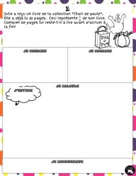Octobre: Mon cahier de résolution de problèmes