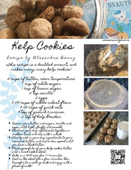 Octonauts Lesson Plan - Kelp Forest + Kelp Cookie Recipe