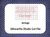 Pi Day 'Octopi' {Silhouette Cut File}