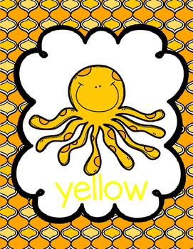 Octopus Color Posters