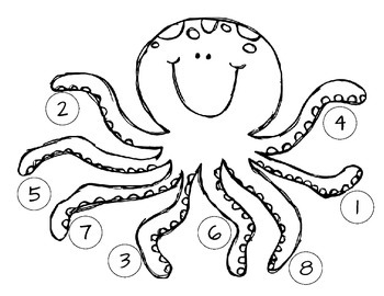 Octopus Counting FREEBIE
