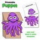 Octopus Craft Activity | Paper Bag Puppet