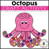 Octopus Craft   Ocean Animals Activity   Sea Life   Ocean Habitat Activities