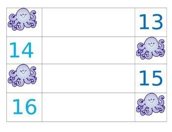 Octopus Desk Labels