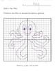 Octopus Dot to Dot Plot, Graphing Ordered Pairs, Fun Math