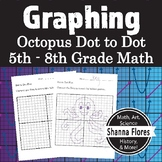 Octopus Dot to Dot Plot, Graphing Ordered Pairs, Fun Math