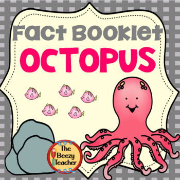 Octopus Fact Booklet