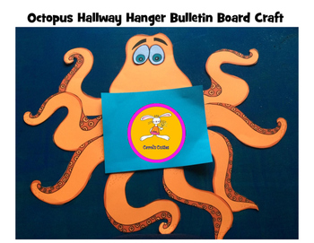 Octopus Hallway Hanger Bulletin Board Craft