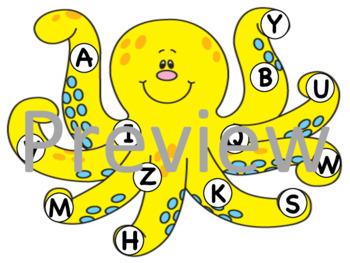 Octopus Letter Match