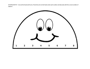 Octopus Math: 1-1 correspondence (Pre-K, K)