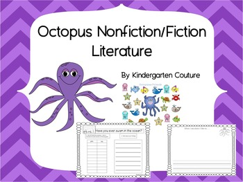Octopus Nonfiction and Fiction Literature