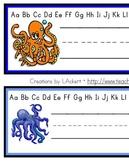 Octopus (Sea Life) Desk / Name / Cubbie Tags