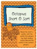 Octopus Short O Word Sort