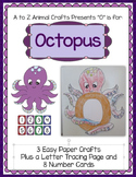 "Octopus and Letter ""O"" Crafts"