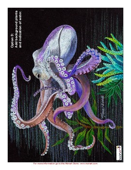 Monart Drawing Project:Octopus and Squid