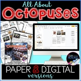 Octopuses Differentiated *DIGITAL AND PAPER* Reading Compr