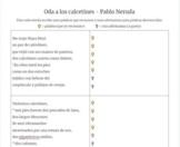 Oda a los calcetines - Poetry of Pablo Neruda