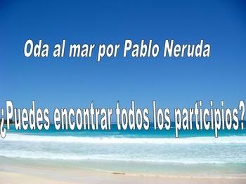 Oda al mar por Pablo Neruda