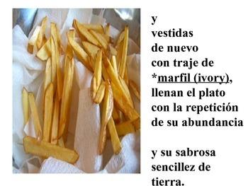 Oda a las papas fritas por Pablo Neruda