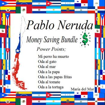 Odas de Pablo Neruda Bundle