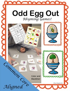 Phonemic Awareness Rhyming Games