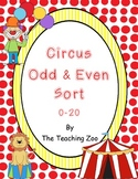 Odd & Even Circus Center Sort!!  {Common Core Center}