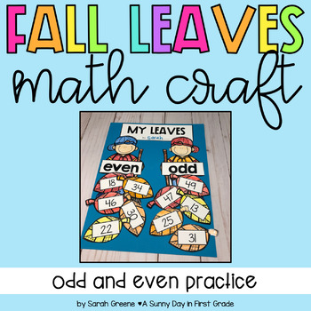 Odd & Even Fall Leaves Math Craft