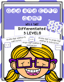 Odd Even GAME- with a twist -SOLVE- Is the sum or differen