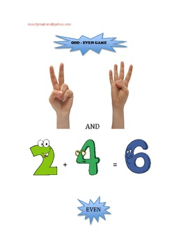 Odd Even Game with Addition Facts