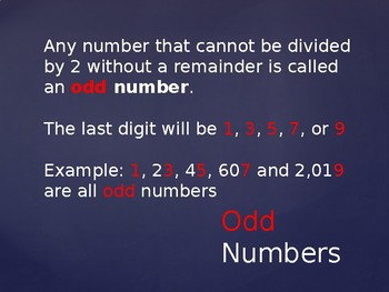 Odd & Even: Number Patterns