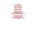 Odd & Even Number Poem