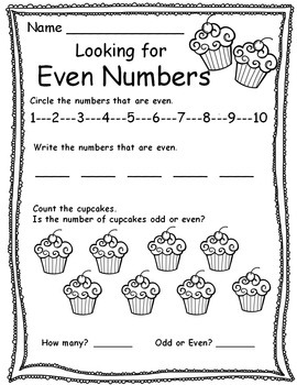 Odd & Even Number Practice