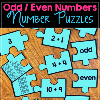 Odd & Even Number Puzzles