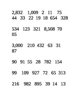 Odd/Even Number Sort Center