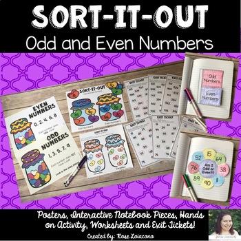Odd & Even Number Sort- Sort It Out
