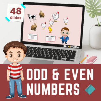 Odd & Even Numbers- 1st grade (UK Year 2, key stage 1)
