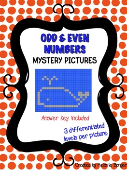 Mystery Pictures - Odd & Even Numbers