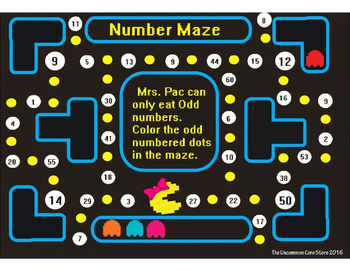 """Odd & Even Numbers""""PAC"""""""