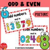 Maths Odd & Even Numbers Posters