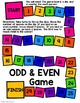 Odd & Even Numbers Smartboard Lesson