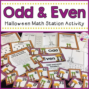 Odd & Even Sorting (Halloween Themed)
