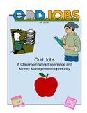 Odd Jobs (Classroom Money Management) - Self Contained, Life Skills, Elementary