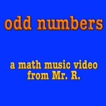 Odd Number Sing-along music video!