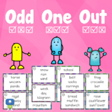 Odd One Out   Distance Learning