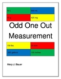 Odd One Out Measurement