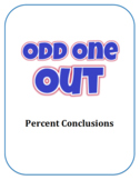 Odd One Out:  Percent Conclusions